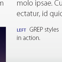 Preview for Quick Tip: Automatic Formatting using GREP Styles in Adobe InDesign
