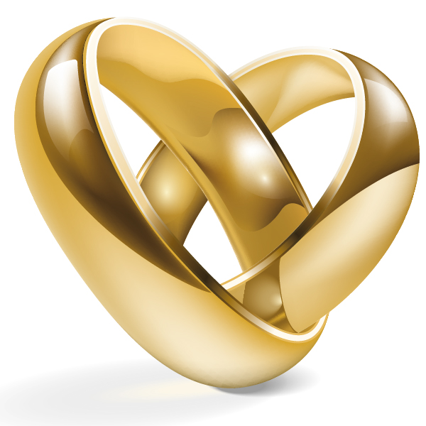 Design wedding rings using adobe illustrator