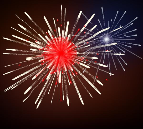 how to create fireworks using adobe illustrator rh design tutsplus com Fireworks Clip Art Shooting Fireworks