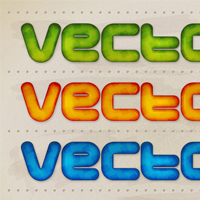 Preview for How to Create a Colorful, 3D Text Effect