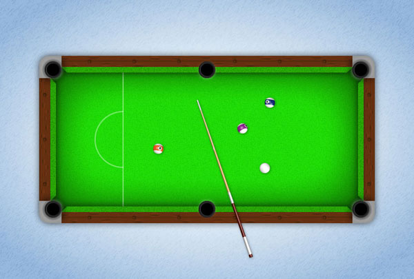 Link toCreate a textured pool table in adobe illustrator