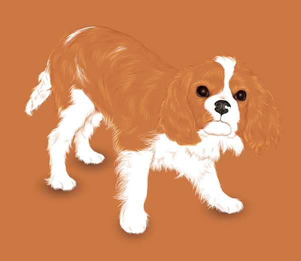Link toCreate an adorable puppy with negative space and the paintbrush tool