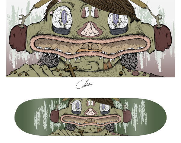 Link toDesign and print a vector skate graphic