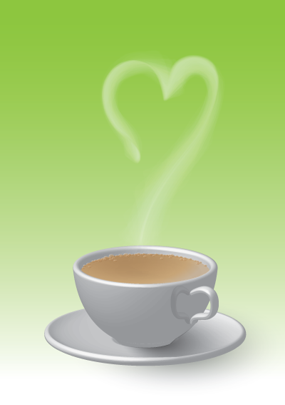 Link toCreate a loving cup of tea in illustrator cs5