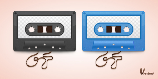 Link toCreate a vector cassette tape illustration