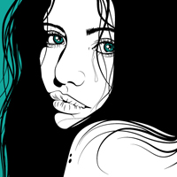 Preview for Creating a Dramatic Portrait with Chunky Line Art
