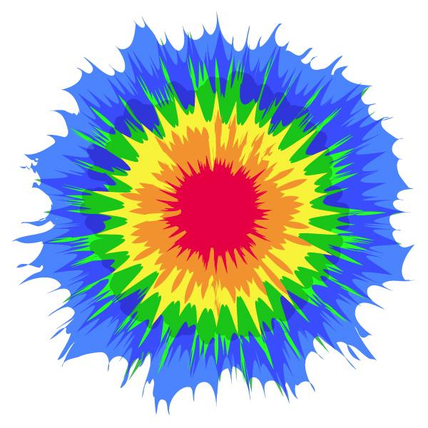 Create Vector Tie-Dye Using Illustrator's Distort Effects