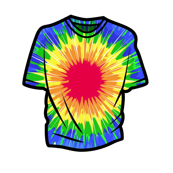 Link toCreate vector tie-dye using illustrator's distort effects