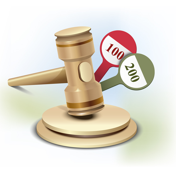 Link toHow to illustrate an auction gavel icon