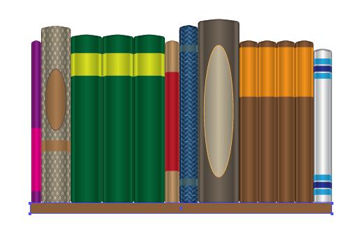 How to Create a Seamless Bookshelf Pattern in Illustrator