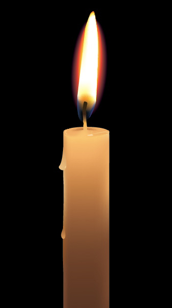 Link toCreate a photo-realistic candle with gradient mesh