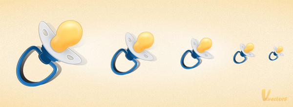 Link toHow to create a pacifier icon in illustrator