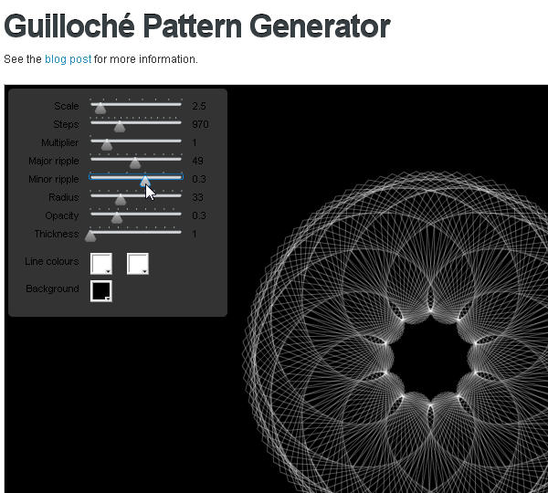 Create a security seal in illustrator using guilloche patterns Free vector program mac