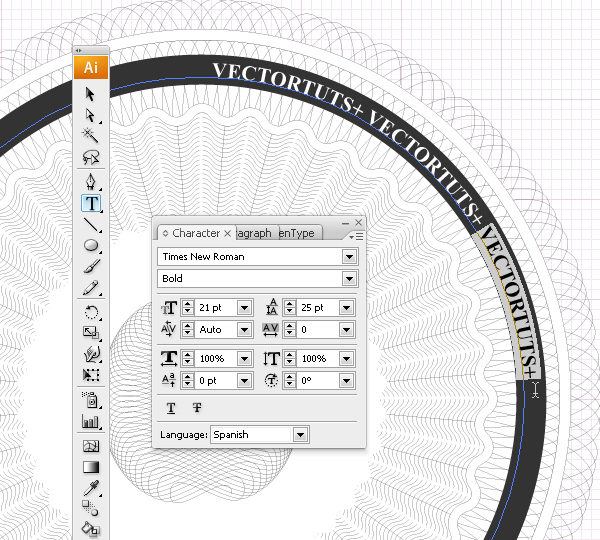 Create a Security Seal in Illustrator Using Guilloche Patterns