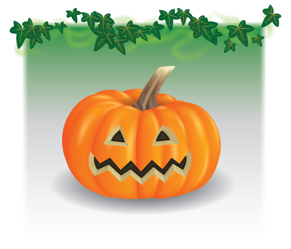 Link toCreate a jack o' lantern with blend art brushes in illustrator