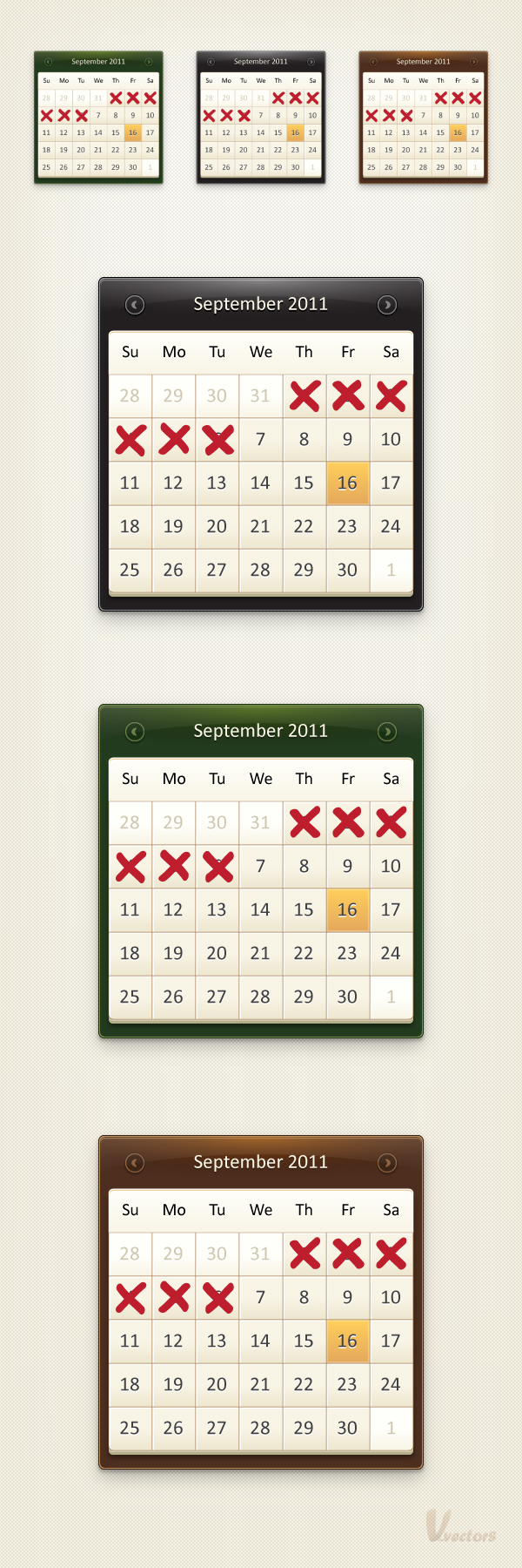 Calendar Design Tutorial : How to create a calendar icon in illustrator