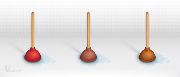 Link toCreate a detailed toilet plunger illustration