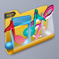 Preview for How to Draw a Vector, Music Folder Icon