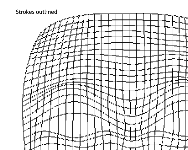 create a wireframe face with the envelope distort tool