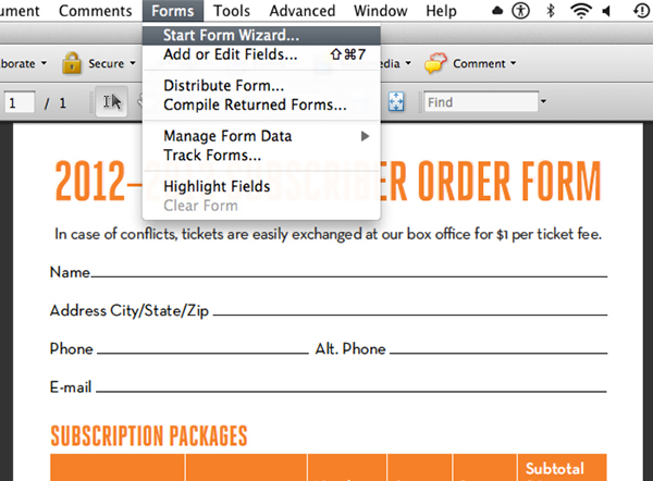 creating fillable pdf forms with indesign and adobe acrobat