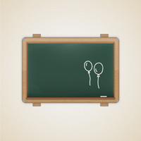 Preview for Create a Detailed Vector Chalkboard Icon