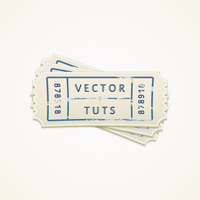 Preview for Create a Vector Ticket Icon in Illustrator