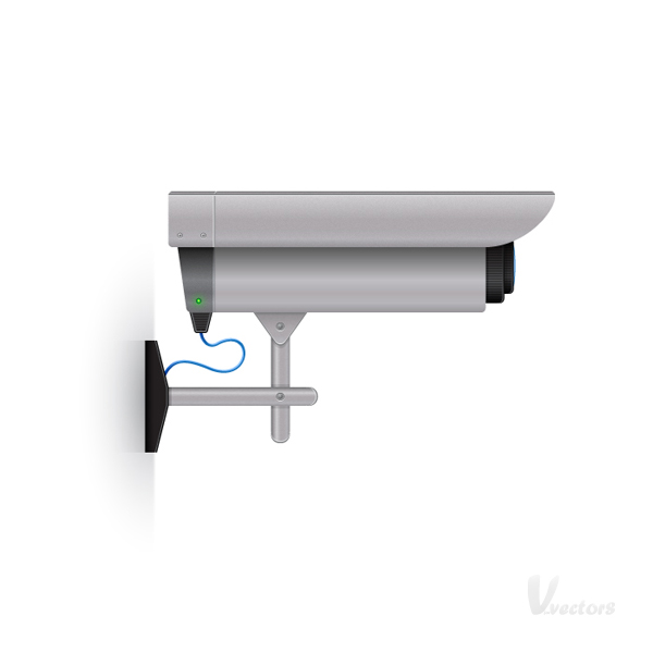 Link toCreate a detailed surveillance camera illustration