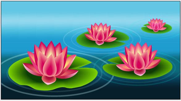 Create a Beautiful Lily Pad Using Adobe Illustrator