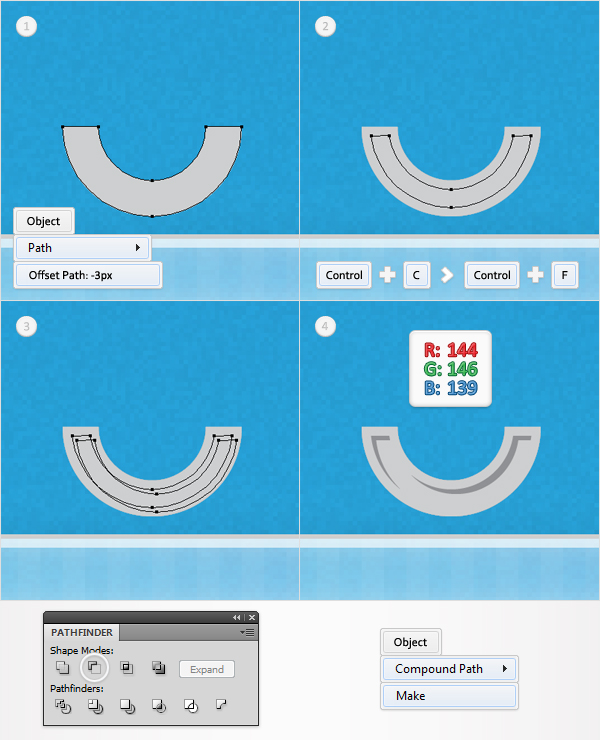 how to make a oject into a shape illustrator