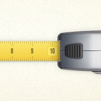 Preview for Create a Vector Tape Measure in Illustrator CS5