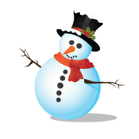 Preview for How to Create a Snowman in Adobe Illustrator