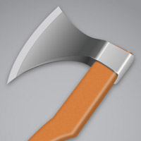 Preview for How To Create a Vector, Wooden Axe