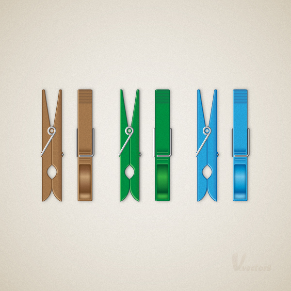 Link toCreate a detailed, vector clothespin illustration