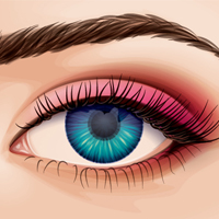 Preview for Creating a Detailed Eye from Stock in Adobe Illustrator