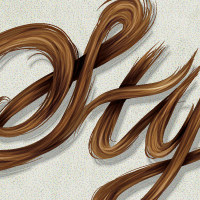 Preview for Create a Stylish, Vector Hair Typography Illustration
