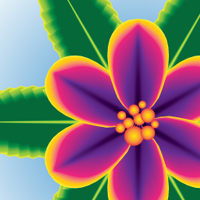 Preview for Create a One Stroke Tropical Flower Using Adobe Illustrator CS6