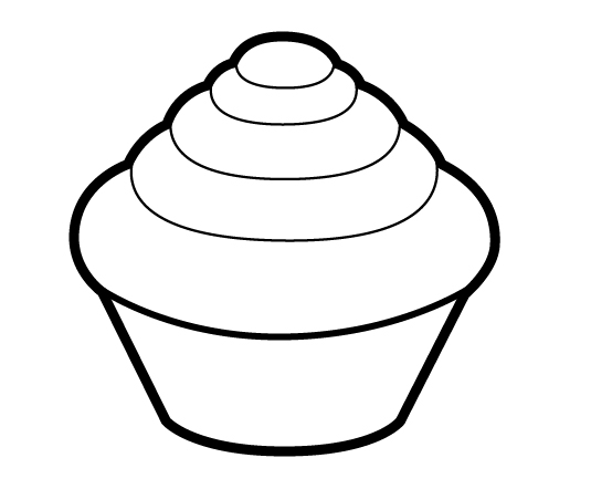 How Do You Draw A Cake Step By Step