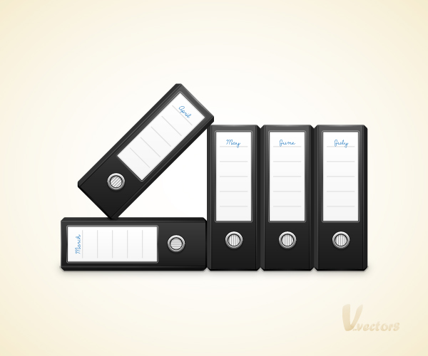 Link toHow to create a vector binders illustration