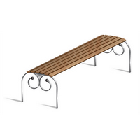 Preview for How to Illustrate a Vector, Street Bench