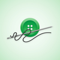 Preview for How to Create a Detailed Button and Needle Illustration