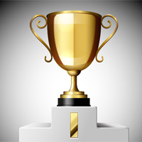 Preview for How to Create a 3D Gold Trophy Cup Using Adobe Illustrator