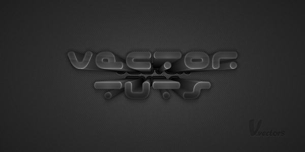 Link toCreate a dark text effect, using 3d extrude & bevel