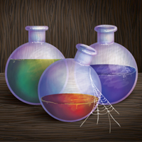 Preview for Create a Fantasy Style Potion Illustration with Gradients and the Bristle Brush