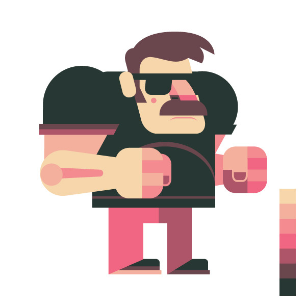 Tutsplus Character Design Download : How to design and vector a set of character poses for