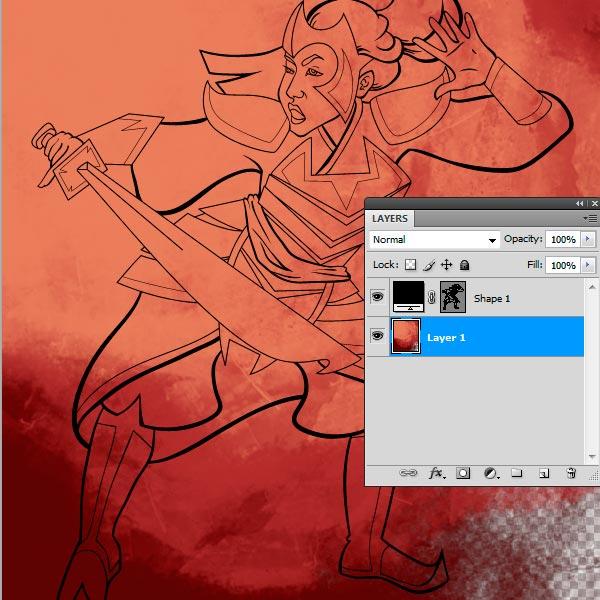 Line Art Adobe Illustrator : How to use brushes in adobe illustrator ink a sketch
