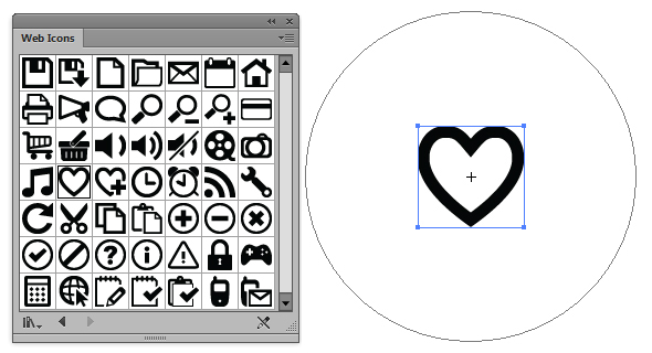 Creating Love Heart Candies Using Symbols And The Appearance Panel