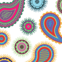 Preview for Creating Paisley Graphic Styles with Scatter Brushes and Recolor Artwork