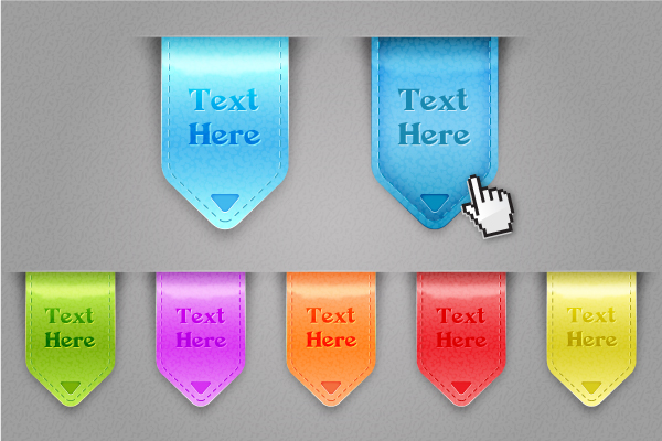 Link toCreate a set of glossy labels and save them for web