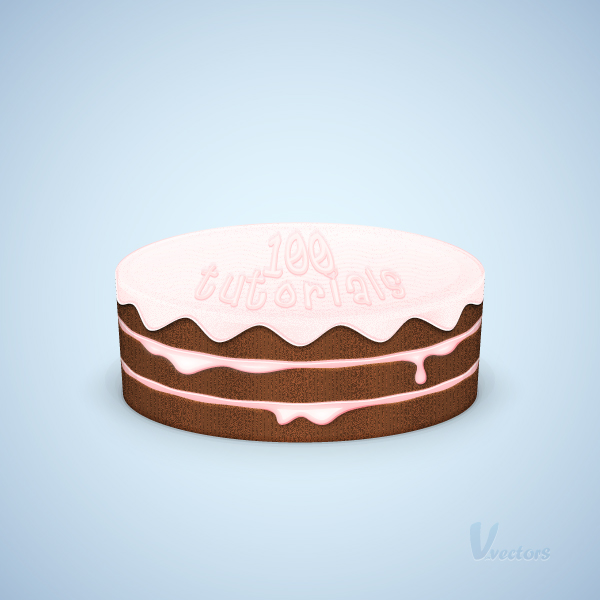 In The Following Tutorial You Will Learn How To Create A Detailed Cake Illustration This Uses Many Different Vector Techniques Including