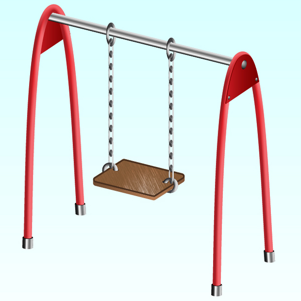 Link toCreate a childrens swing using clipping masks and blends